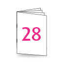 Broschüre A4, 250/135gm, 28-seitig, Bilderdruck/Naturpapier