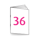 Broschüre A4, 250/135gm, 36-seitig, Bilderdruck/Naturpapier