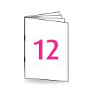 Broschüre DIN Lang, 250/135gm, 12-seitig, Bilderdruck/Naturpapier