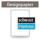 Briefpapier A4, einseitig, 2-farbig schwarz + Pantone