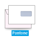 Kuvert C5, beidseitig, 1-farbig Pantone
