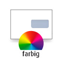 Kuvert C5, einseitig, 4-farbig CMYK