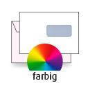 Kuvert C5, beidseitig, 4-farbig CMYK