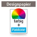 Briefpapier A4, einseitig, 4-farbig CMYK + Pantone