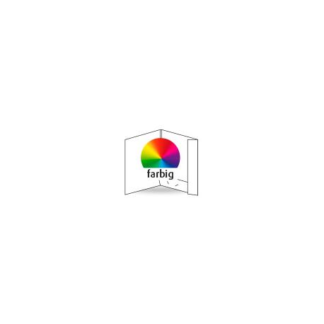 Dokumappe, einseitig, 4-farbig CMYK