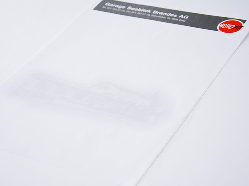 Briefbogen A4 Drucken